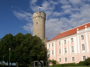 Toompea Castle - the jewel in Tallin's crown