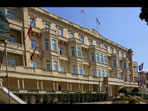 The British High Commission - on the highest floor
