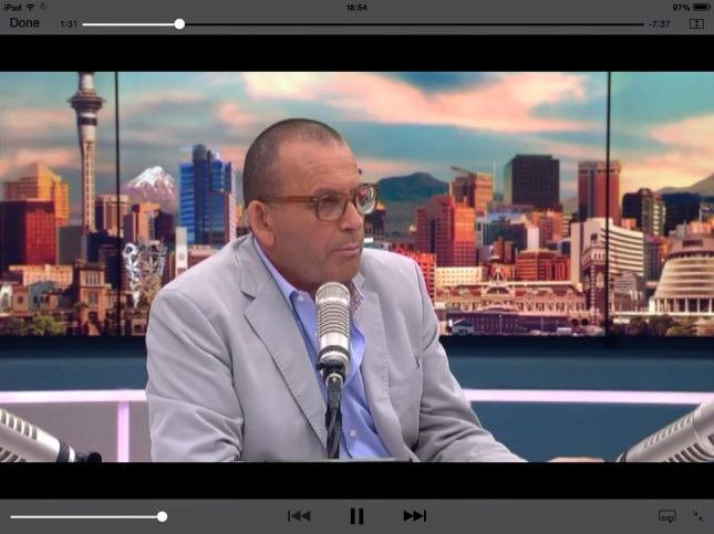Paul Henry's TV3 show looks slick.